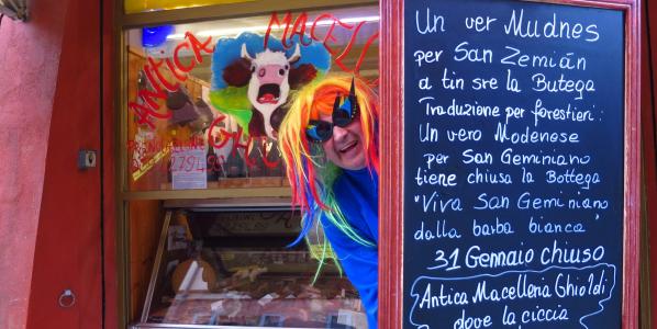 31 Gennaio chiuso…festa del patrono di Modena(San Geminiano)