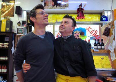 Daniele Reponi,faccia nota alla trasmissione Prova del Cuoco Rai Uno,il re dei panini indiscusso in Italia-La casa del macellaio-Antica Macelleria Ghioldi