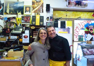 Family Pavarotti(Cristina)…dove il cliente diventa un amico(where the customer becomes a friend)La casa del macellaio-Antica Macelleria Ghioldi